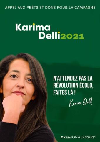 Karima Delli, candidate aux élections régionales 2021 dans les Hauts de France