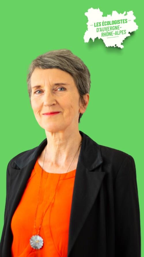 Fabienne Grébert pour les élections régionales en Auvergne - Rhône-Alpes